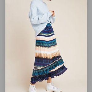 NWT Anthropologie Maxi Skirt by Daniel Rain. Sz M.